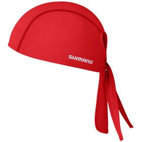 Shimano Bandana - Accesorios para la cabeza - rojo